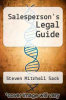 cover of Salesperson`s Legal Guide