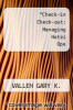 cover of Check-in Check-out: Managing Hotel Ope