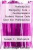 cover of Prehospital Emergency Care + Coursecompass Student Access Code Card for Prehospital Emergency Care Pkg (9th edition)