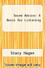 cover of Sound Advice: A Basis for Listening (1st edition)