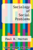 cover of Sociology of Social Problems (11th edition)