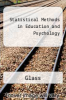 cover of Statistical Methods in Education and Psychology (2nd edition)