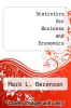 cover of Statistics for Business and Economics (2nd edition)