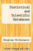 cover of Statistical and Scientific Databases