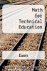 cover of Math for Technical Education (3rd edition)