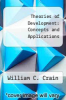 cover of Theories of Development: Concepts and Applications