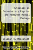cover of Tutorials in Introductory Physics and Homework Manual Package