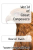 cover of World of Great Composers