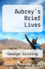 cover of Aubrey`s Brief Lives ( edition)