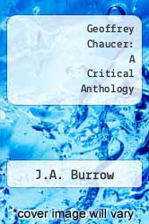 Geoffrey Chaucer: A Critical Anthology by J.A. Burrow - ISBN 9780140800623