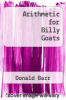 cover of Arithmetic for Billy Goats