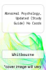cover of Abnormal Psychology, Updated (Study Guide) No Cards