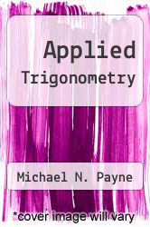 Cover of Applied Trigonometry 1 (ISBN 978-0155029118)