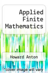 Cover of Applied Finite Mathematics 5 (ISBN 978-0155029422)