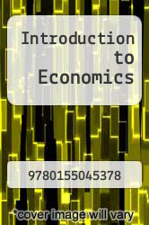 Cover of Introduction to Economics 1 (ISBN 978-0155045378)