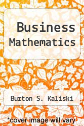 Cover of Business Mathematics 3 (ISBN 978-0155056411)