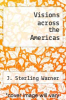 cover of Visions across the Americas (4th edition)