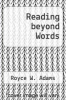 cover of Reading beyond Words (6th edition)