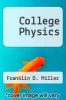 cover of College Physics (6th edition)