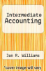 cover of Intermediate Accounting (4th edition)