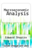 cover of Macroeconomic Analysis (4th edition)