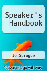 Cover of Speaker