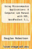 cover of Using Microcomputer Applications: A Computer Lab Manual with DOS, WordPerfect 5.1, Lotus 1-2-3, and dBASE IV