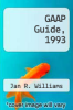 cover of GAAP Guide, 1993 ( edition)