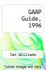 cover of GAAP Guide, 1996 ( edition)
