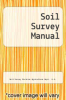 cover of Soil Survey Manual