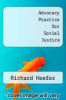 cover of Advocacy Practice for Social Justice, Third Edition (3rd edition)