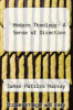 cover of Modern Theology: A Sense of Direction