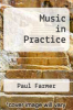 cover of Music in Practice
