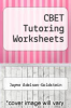 cover of CBET Tutoring Worksheets