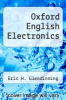 cover of Oxford English Electronics