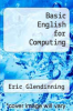 cover of Basic English for Computing