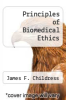 cover of Principles of Biomedical Ethics (2nd edition)