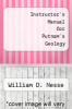 cover of Instructor`s Manual for Putnam`s Geology (5th edition)