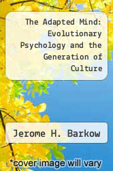 Cover of The Adapted Mind: Evolutionary Psychology and the Generation of Culture EDITIONDESC (ISBN 978-0195060232)