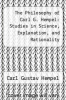 cover of The Philosophy of Carl G. Hempel: Studies in Science, Explanation, and Rationality