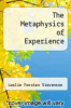 cover of The Metaphysics of Experience