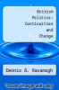 cover of British Politics: Continuities and Change (2nd edition)