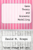 cover of Game Theory and Economic Modelling