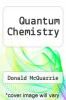 cover of Quantum Chemistry