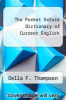 cover of The Pocket Oxford Dictionary of Current English (8th edition)