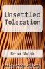 cover of Unsettled Toleration