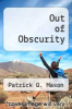 cover of Out of Obscurity