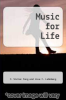 cover of Music for Life