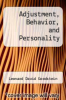 cover of Adjustment, Behavior, and Personality