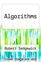 Cover of Algorithms EDITIONDESC (ISBN 978-0201066722)